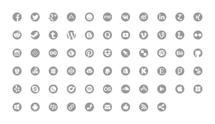 Symbolset Ss Social Circle